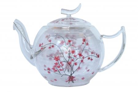Čajník sklenený
